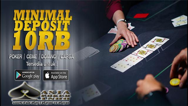Game Poker Indonesia Resmi Tanpa Bot Deposti 10 Ribu