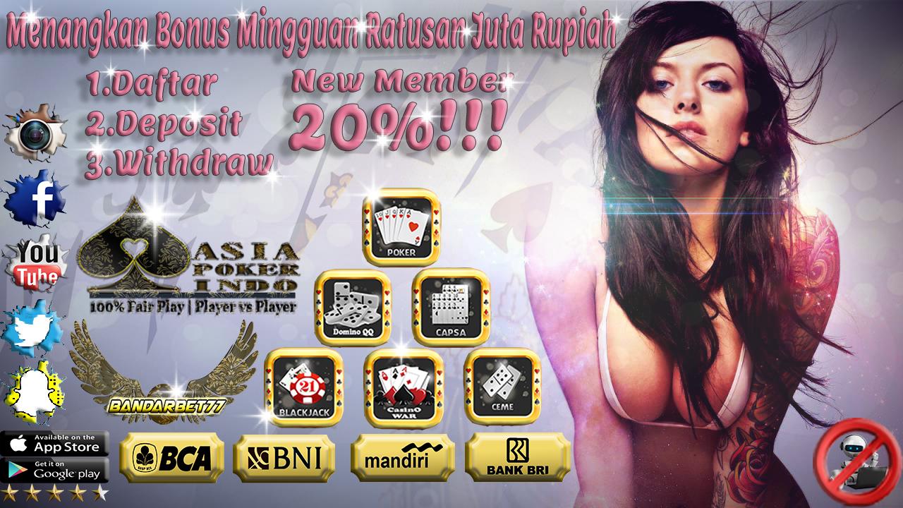 Daftar Poker Online Terbesar Pakai Uang Asli Indonesia